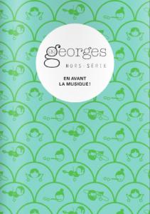 couverture du magazine Georges Hors série en avant la musique
